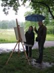 IMG_2953.jpg - Jarní malba v plenéru může být krásným zážitkem i navzdory nepříznivému počasí.