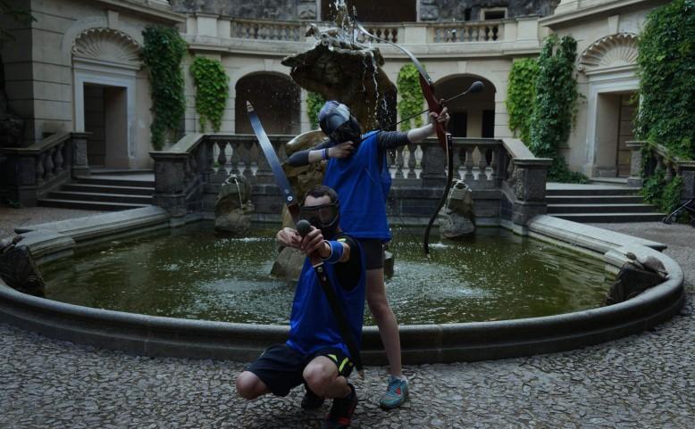 Extreme-Archery - adrenalinová lukostřelba v centru Prahy
