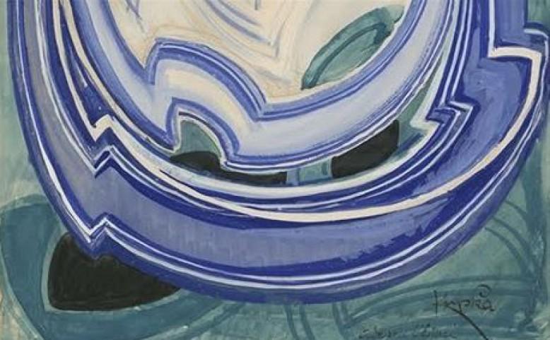 František Kupka: Vanoucí modře