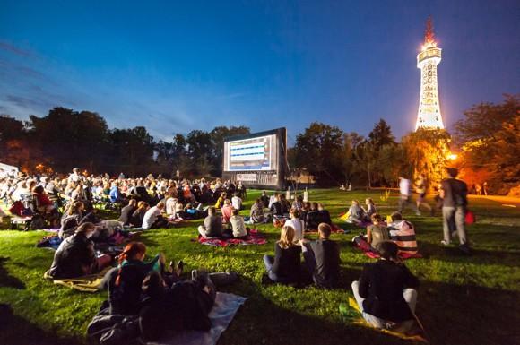 Letní kino na Petříně